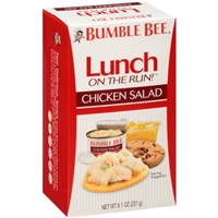 Bumble Bee Lunch on the Run Complete Chicken Salad Lunch Kit Food Product Image