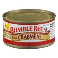 Bumble Bee Pink Crabmeat Food Product Image