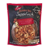 Bumble Bee Superfresh Spicy Shrimp Romesco Food Product Image