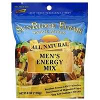 SunRidge Farms All Natural Omega 3 Men's Energy Mix Food Product Image
