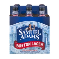 Samuel Adams Boston Lager Beer Bottles - 6 CT Food Product Image
