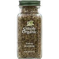 Simply Organic Certified Organic Italian Seasoning Food Product Image