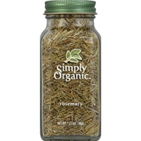 Simply Organic Certified Organic Rosemary Food Product Image