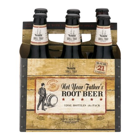Small Town Brewery Not Your Fathers Rootbeer Food Product Image
