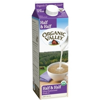 Organic Valley Half & Half Food Product Image