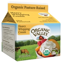 Organic Valley Heavy Whipping Cream Food Product Image