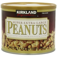 Kirkland Signature Super XL VA Peanuts, 40 Ounce : Snack Peanuts Food Product Image