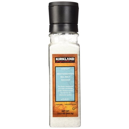 Kirkland Signature Mediterranean Sea Salt Grinder Food Product Image