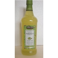 Kirkland Signature Premium Margarita Cocktail Mix - Non-Alcoholic - CLASSIC LIME / 1.75l., 59.2 Fl. Oz. Food Product Image