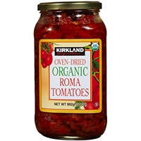 Kirkland Signature Oven Dried Organic Roma Tomatoes Food Product Image