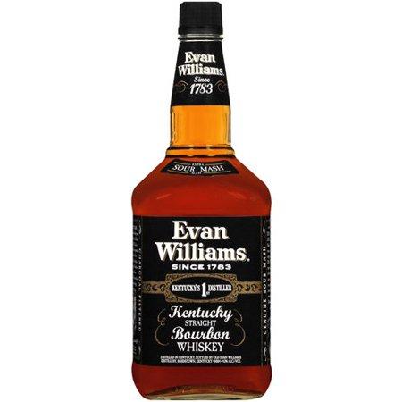 Evan Williams Black Label Whiskey Food Product Image