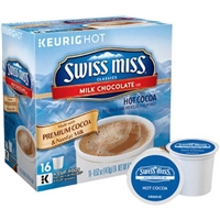 Swiss Miss K-Cups Hot Cocoa, Milk Chocolate Flavor Food Product Image