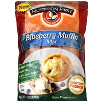 Nutrition First Blueberry Muffin Mix Food Product Image