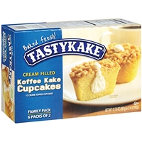 Tastykake Cream Filled Koffee Kake Cupcakes Family Pack - 12 Ct Food Product Image