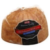 H-E-B Low Sodium Old Fashioned Ham Food Product Image