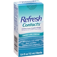 Refresh Contacts Contact Lens Comfort Drops Food Product Image
