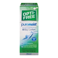 Opti-Free Puremoist Multi-Purpose Disinfecting Solution All Day Comfort Food Product Image