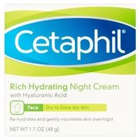 Cetaphil Hydrating Night Cream Food Product Image