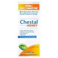 Boiron Cough & Chest Congestion Chestal Honey Cough Syrup Food Product Image