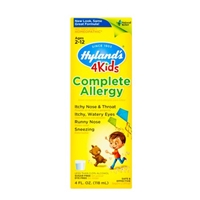 Hyland's 4 Kids Complete Allergy Ages 2 - 12 Food Product Image