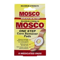 Mosco One Step Corn Remover Pads - 8 CT Food Product Image