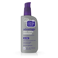 Clean & Clear Advantage Oil-Free Acne Moisturizer Food Product Image