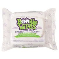 Boogie Wipes Premoistened Unscented 30 ct Food Product Image