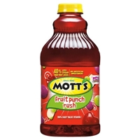 Mott's Fruit Punch Rush 64 Fl Oz Food Product Image