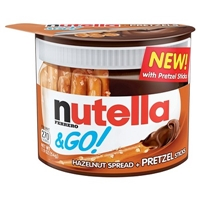 Nutella & Go! with Pretzel Sticks 1.9oz Food Product Image