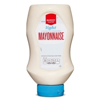 Light Mayonnaise Squeeze Bottle 18 oz - Market Pantry Food Product Image