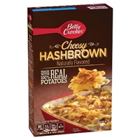 Betty Crocker Cheesy Hashbrowns 3.7 oz Food Product Image