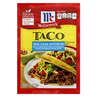 McCormick Taco Seasoning Mix 1.25 oz Food Product Image