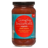Organic Tomato Basil and Parsley Pizza Sauce - Simply Balanced Food Product Image