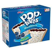Kellogg's Pop-Tarts Frosted Blueberry Pastries 12 ct Food Product Image