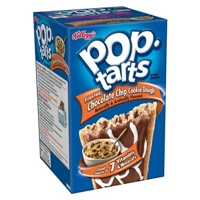 Kellogg's Pop-Tarts Frosted Chocolate Chip Cookie Dough Pastries 8 ct Food Product Image