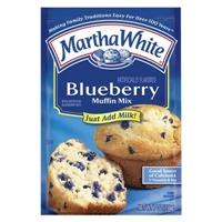 Martha White Blueberry Muffin Mix 7 oz Food Product Image