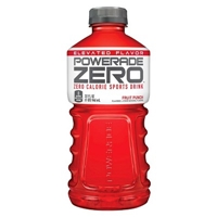 Powerade Zero Fruit Punch Sports Drink 32 oz Food Product Image