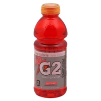 Gatorade G2 Fruit Punch Sports Drink 20 oz Food Product Image