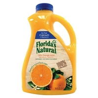 Florida's Natural No Pulp Orange Juice 89 oz Food Product Image