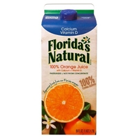Florida's Natural Premium Calcium & Vitamin D No Pulp Orange Juice 59 oz Food Product Image