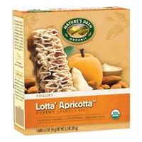 Nature's Path, Yogurt, Chewy Granola Bars, Lotta' Apricotta Food Product Image