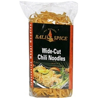 Bali Spice Indonesian Wheat Noodles Wide-Cut, Chili Food Product Image
