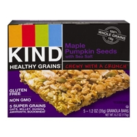 Kind Healthy Grains Granola Bars Maple Pumpkin Seeds with Sea Salt - 5 CT Food Product Image