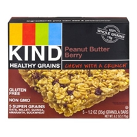 KIND Healthy Grains Granola Bars Peanut Butter Berry - 5 CT Food Product Image