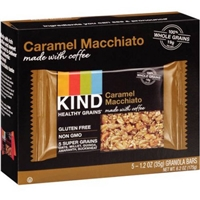 KIND Granola Bars Caramel Macchiato - 5 CT Food Product Image
