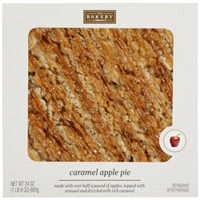 The Bakery At Walmart Caramel Apple Pie, 24 oz Food Product Image