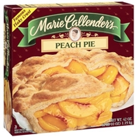 Marie Callender's Peach Pie Food Product Image