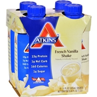 Atkins French Vanilla Shake - 4 CT Food Product Image