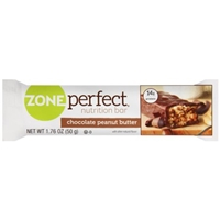 Zone Perfect Nutrition Bar Chocolate Peanut Butter Food Product Image