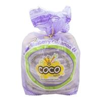 Coco Lite Multigrain Pop Cakes Blueberry Cinnamon Food Product Image